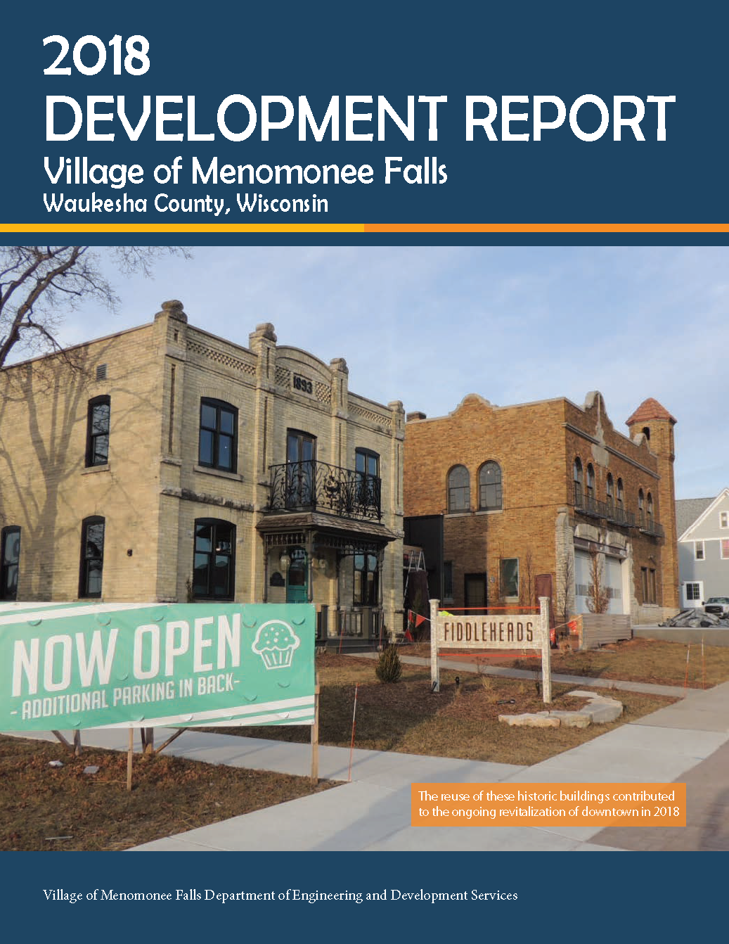 2018 Development Report Cover