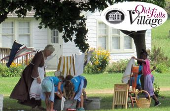 Old Falls Village In Touch With History Event