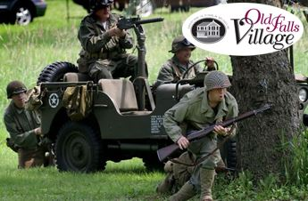 Old Falls Village WW2 Event