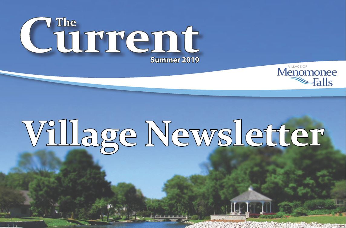 The Current Newsletter Summer 2019 Cover with Link