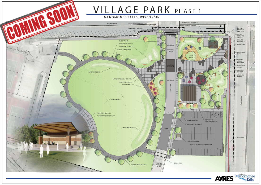 Village Park Coming Soon Banner