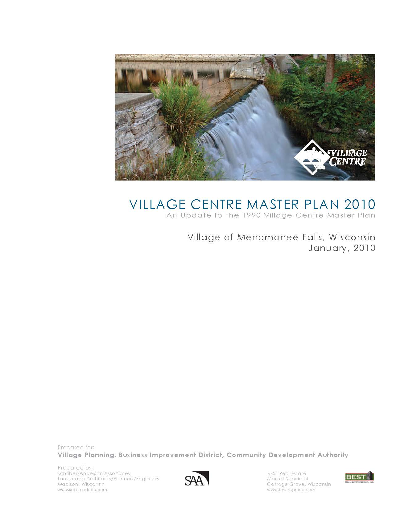 Pages from 2010 Village Centre Master Plan