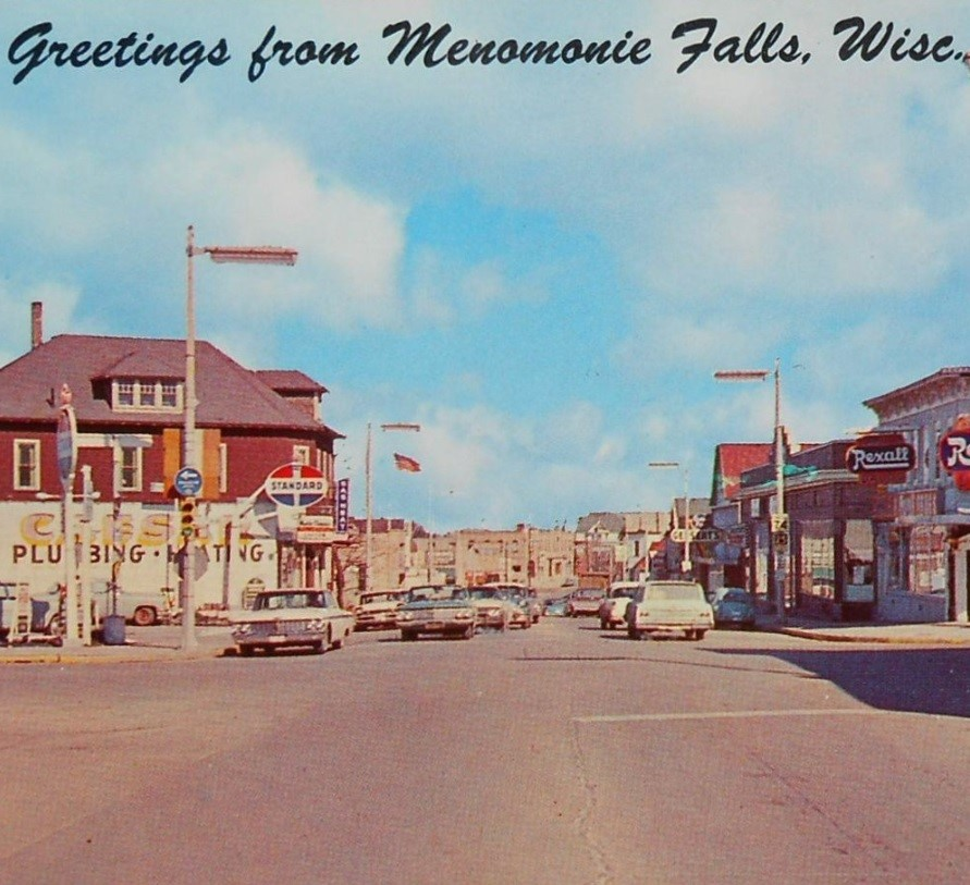 1960s Postcard of Main Street