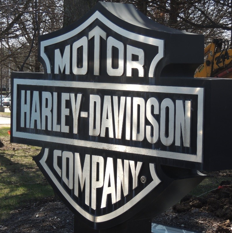 Harley Davidson Powertrain Sign