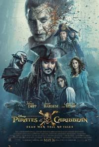 Pirates of the Caribbean: Dead Men Tell No Tales movie poster
