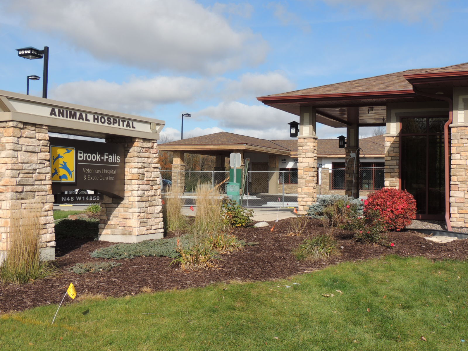 Brook-Falls Veterinary Hospital Addition under Construction