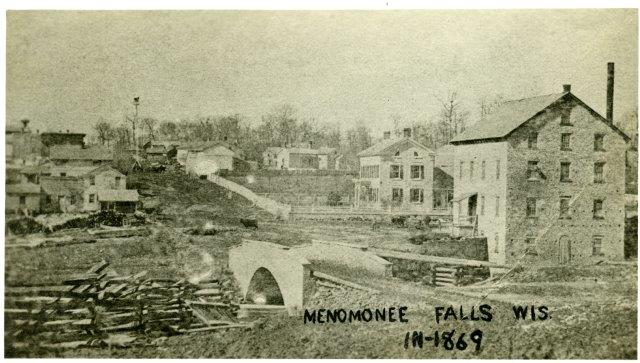 Main Street Looking West in 1869