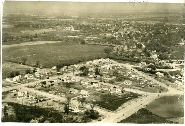 Aerial of Hiawatha Heights Neighborhood