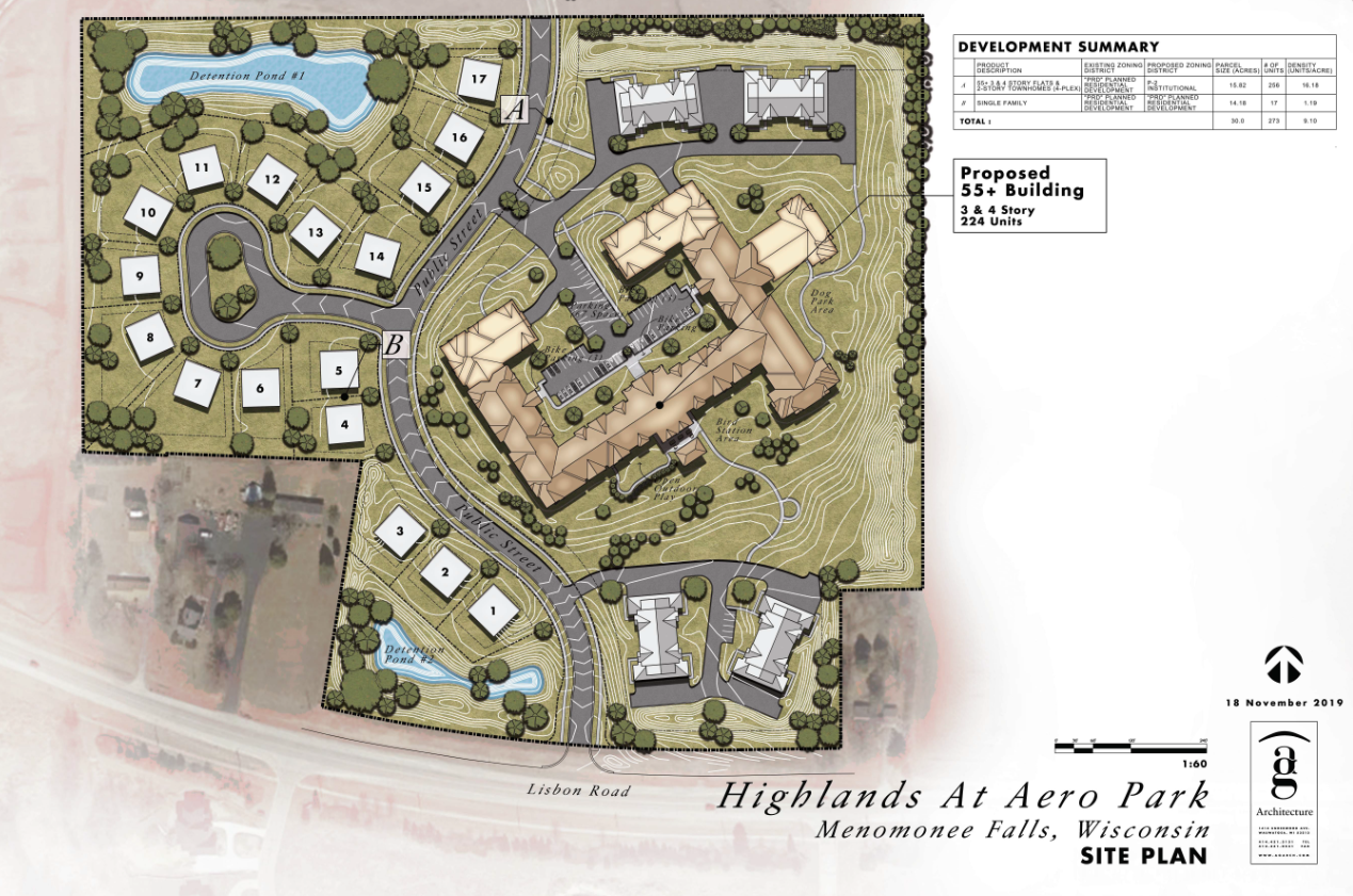 HIghlands at Aero Park Site Plan Low Resolution