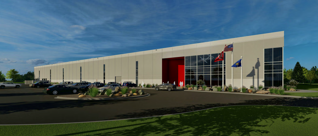 Milwaukee Tool Technology Center Rendering