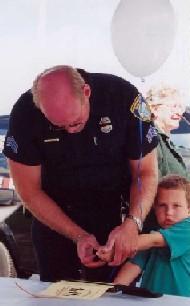 Child fingerprinting
