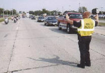 Officer Directing Traffic